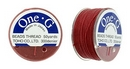 PT-50-17 - 50 yards of Toho One-G beading thread in Red