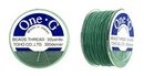 PT-50-21 - 50 yards of Toho One-G beading thread in Mint Green