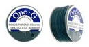 PT-50-22 - 50 yards of Toho One-G beading thread in Deep Green