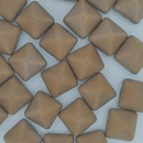 2 x 12mm pyramids in Matt Chalk White Sunset