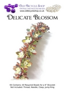 Bead Kit for Delicate Blossom in Copper Rainbow