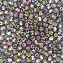 50 x 6mm faceted beads in California Pink