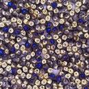 25 x 4mm Mushroom beads in California Blue
