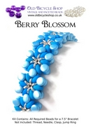 Bead Kit for Berry Blossom in Blue