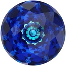 18mm Dome Crystal in Bermuda Blue (Swarovski)