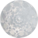 18mm Dome Crystal in White Opal (Swarovski)