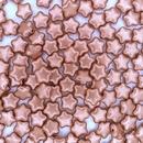 25 x 8mm stars in Vintage Copper