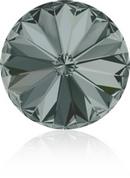14mm Rivoli in Black Diamond (Swarovski)