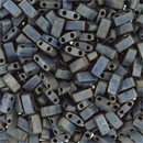 5g Half Tila beads in Matt Silver Grey (HTL2002)