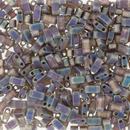 5g Half Tila beads in Matt Brown AB (HTL135FR)