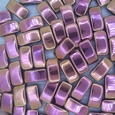 5 x Carrier Beads in Full Capri Rose (9x17mm)