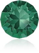 SS39 or 8.3mm Xirius Chaton in Emerald (Swarovski)