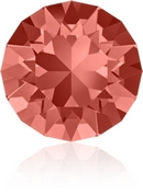 SS39 or 8.3mm Xirius Chaton in Padparadscha (Swarovski)