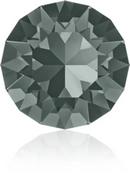 SS39 or 8.3mm Xirius Chaton in Black Diamond (Swarovski)