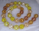 Sunshine mix of beads for the necklace Selected Berries Harvest