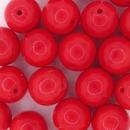 10mm round Red beads (1980s)