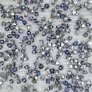 24 x 4mm bicones in Crystal Bermuda Blue (Preciosa)
