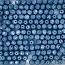 50 x 4mm faceted beads in Baby Blue Lustre