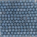 50 x 4mm faceted beads in Matt Baby Blue Lustre