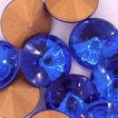 16mm Sapphire Blue Rivoli Cab33