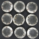 Cab52 - 18mm round cabochon in Crystal (1950s)