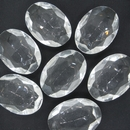 25x18mm Crystal Oval Cabochon (Vintage) Cab54