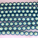 10 x 8mm pearls in Moonstone Blue