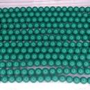 25 x 6mm Fiesta pearls in Green Jade