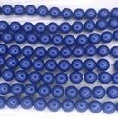 10 x 8mm Fiesta pearls in Royal Blue