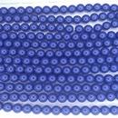 25 x 6mm Fiesta pearls in Royal Blue