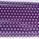 25 x 6mm pearls in Purple