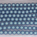10 x 8mm pearl shell in Silver Blue