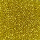 006 - 5g Size 15/0 Miyuki seed beads in Silver lined Yellow