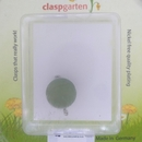 Claspgarten Peridot magnetic round clasp - 15mm
