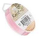 5m of 0.8mm Beadsmith Chinese Knotting Cord in Pink