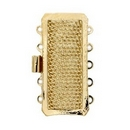 Claspgarten Gold 26.5mm clasp with 5 rows 13726