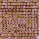 50 x 4mm cubes in Opaque Pink Picasso