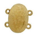 Claspgarten Gold magnetic clasp with 2 rows 14557 - 17x11.5mm